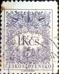 Sellos de Europa - Checoslovaquia -  Intercambio 0,20 usd 1 k. 1954