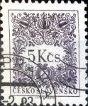 Sellos de Europa - Checoslovaquia -  Intercambio 0,25 usd 5 k. 1955