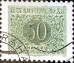 Stamps Czechoslovakia -  Intercambio 0,20 usd 50 h. 1955