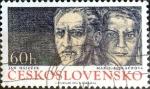 Sellos de Europa - Checoslovaquia -  Intercambio 0,20 usd 60 h. 1974