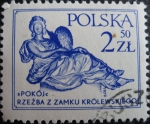 Stamps Poland -  Peace, by Andre le Brun