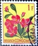Stamps : Europe : Belgium :  Intercambio 0,20 usd 1 fr. 1952
