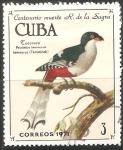 Sellos del Mundo : America : Cuba : Centenaio de la muerte R. de la Sagra-tocororo
