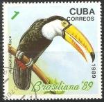 Sellos del Mundo : America : Cuba : Ramphastos toco- tucano
