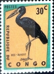 Stamps : Africa : Democratic_Republic_of_the_Congo :  Intercambio 0,20 usd 30 cent. 1963