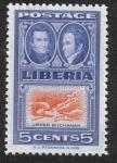 Sellos de Africa - Liberia -  Jehudi Ashmun