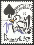 Stamps Denmark -  Pato