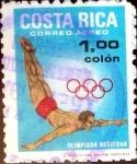 sello : America : Costa_Rica : Intercambio 0,25 usd 1 colon 1968