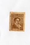 Stamps : America : Argentina :  REPUBLICA ARGENTINA VERNARDINO RIVADAVIA