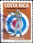 Stamps : America : Costa_Rica :  Intercambio 0,90 usd 3 colon 1968