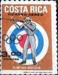 Stamps : America : Costa_Rica :  Intercambio 0,90 usd 3 colon 1968