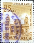 Stamps : America : Costa_Rica :  Intercambio 0,20 usd 25 cent. 1967