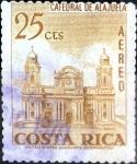 Sellos de America - Costa Rica -  Intercambio 0,20 usd 25 cent. 1967