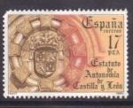 Stamps Spain -  estatuto de autonomia de castilla y león