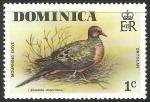 Sellos del Mundo : America : Dominica : mourning dove