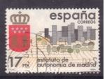 Stamps Spain -  estatuto de autonomia de madrid