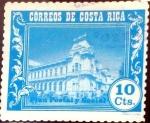 Stamps : America : Costa_Rica :  Intercambio 0,20 usd 10 cent. 1967
