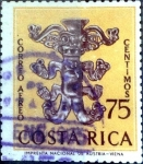 Stamps : America : Costa_Rica :  Intercambio 0,20 usd 75 cent. 1963