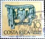 Stamps : America : Costa_Rica :  Intercambio 0,20 usd 10 cent. 1963