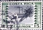 Sellos de America - Costa Rica -  Intercambio 0,20 usd 15 cent. 1954