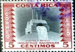 Stamps : America : Costa_Rica :  Intercambio 0,20 usd 5 cent. 1954