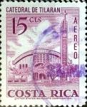 Sellos de America - Costa Rica -  Intercambio 0,20 usd 15 cent. 1967