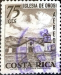 Stamps : America : Costa_Rica :  Intercambio 0,30 usd 75 cent. 1967