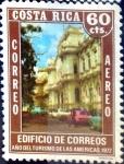 Sellos de America - Costa Rica -  Intercambio 0,20 usd 60 cent. 1972