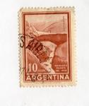 Stamps : America : Argentina :  Mendoza Puente del Inca