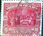 Stamps Costa Rica -  Intercambio 0,20 usd 10 cent. 1930
