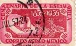 Stamps : America : Mexico :  CENTENARIO DE LA ESTAMPILLA 1856-1956