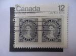 Stamps Canada -  Exposición Filatélica 1978-Toronto-canadá - Sello sobre Sello- capex.