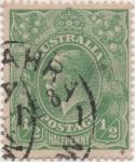 Sellos de Oceania - Australia -  Y & T Nº 18