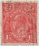 Sellos de Oceania - Australia -  Y & T Nº 22 (1)