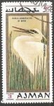 Stamps United Arab Emirates -  Aves de Ajman