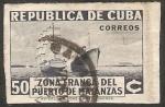 Sellos del Mundo : America : Cuba : Zona franca del puerto de Matanzas