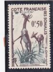 Stamps Somalia -  gacelas