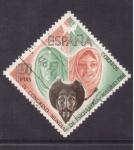 Stamps Spain -  IV congreso mundial de psiquiatria