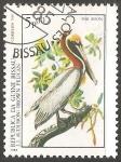 Sellos del Mundo : Africa : Guinea_Bissau : Brown pelican-Pelicano-pardo