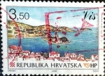 Stamps : Europe : Croatia :  Intercambio jxa 0,95 usd 3,50 k. 2000