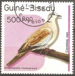 Stamps Guinea Bissau -  Streptopelia roseogrisea-pomba-rola rosigrís