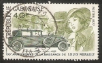 Sellos del Mundo : Africa : Gabón : Centº del nacimiento de Louis Renault, constructor de automóviles