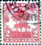 Sellos de America - Cuba -  Intercambio 0,20 usd 2 cent. 1899