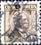 Sellos del Mundo : America : Cuba : Intercambio 0,20 usd 10 cent. 1954