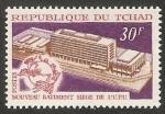 Stamps : Africa : Chad :  Edificio del U.P.U., en Berna