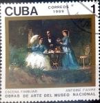 Sellos del Mundo : America : Cuba : Intercambio crxf 0,20 usd 1 cent. 1989
