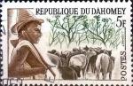 Sellos del Mundo : Africa : Benin : Intercambio 0,20 usd 5 fr. 1963