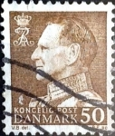 Stamps Denmark -  Intercambio 0,25 usd 50 ore 1967