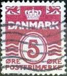 Sellos de Europa - Dinamarca -  Intercambio 0,25 usd 5 ore 1938