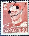 Sellos de Europa - Dinamarca -  Intercambio 0,20 usd 30 ore 1952